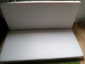 Free 2x mattress 70cmx160cm