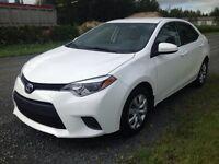Toyota corolla LE 2015 FINANCEMENT 16495$