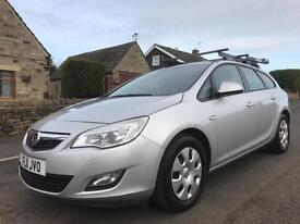2011 VAUXHALL ASTRA 1.7 CDTI 16V EXCLUSIVE 5DR ESTATE