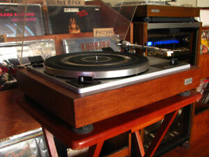 Table Tournante Toshiba SR-305 Restaurée Restored Turntable