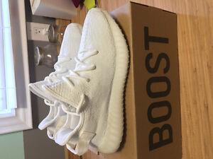 Yeezy Boost 350 v2 Cream Triple White Sz 7.5