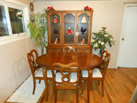 """French Provincial Dining Set by """"Gibbard"""""""