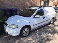 Vauxhall Astra van 1999 long mot