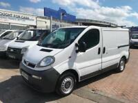 2006 Vauxhall Vivaro 1.9CDTI VAN DIRECT FROM COMPANY SUPERB COND NO VAT ON THIS!