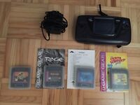 Game Gear and 4 games