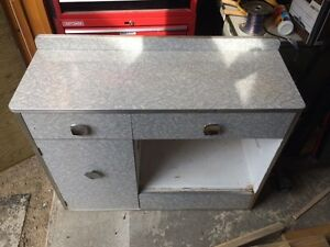 Mid Century Modern End Table/Desk/Pantry/???