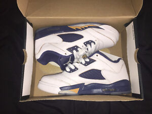Air Jordan 5s Low Dunk From Above (Size 7)