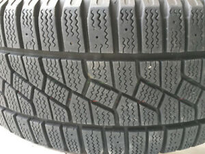 205/55R16 Kumho KW11 Winter Tires and Rim