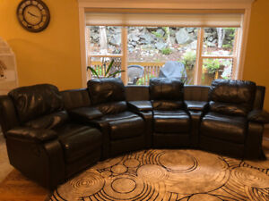 Theater style sectional for sale
