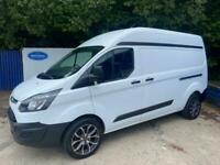 2014 Ford Transit Custom 2.2TDCi ( 125PS ) 290 Eco-Tech L2H2 Diesel Van In White