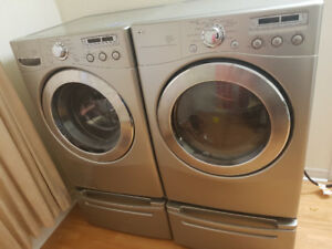 27 LG washer / dryer front load  for sale