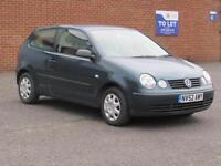 2002/52 Volkswagen Polo 1.2 ( 55bhp ) 12 months mot, Cheap insurance