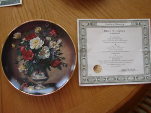 """Rose Bouquet"" Collector Plate"