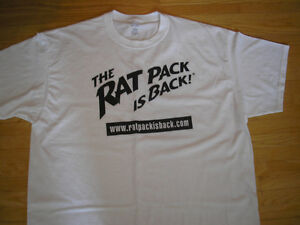 BRAND NEW - CONCERT T SHIRT-  Rat Pack is Back