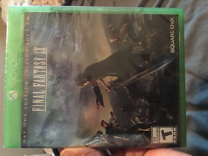Brand new final fantasy XV day one edition