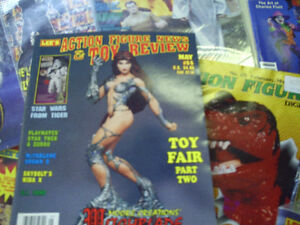 action figure magazines
