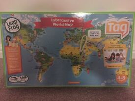 Leapfrog Tag Reading System with Reader world map