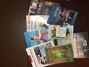 Pre-Health textbooks St. Clair College
