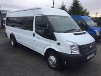 Ford TRANSIT 17 seater 2013 13 reg only 25,000 miles 135 bhp T430