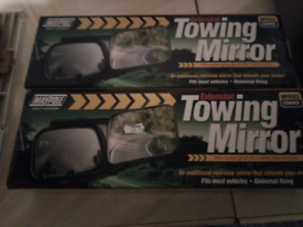 Caravan towing mirrors brand new in box