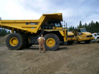 HEO/Operator experienced.will work free/worked/mine/logging/lvl3