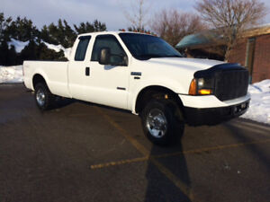2007 FORD F250 SUPERDUTY 4X4 EX CAB