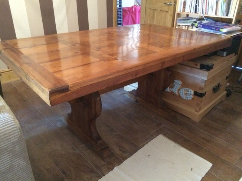 Price Slashed For Quick Sale Toucan Mexican Pine Dining Table And 6 Chairs