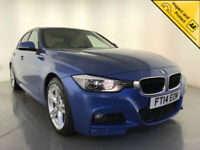 2014 BMW 318D M SPORT 4 DOOR SALOON £30 ROAD TAX SERVICE HISTORY