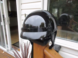 DOT Approved Motorcycle ATV Black Helmet - Size Small Used Once