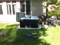 Concrete Pad - Hot Tub Pads, AC Pads, Shed Pads