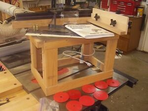Lee Valley router table