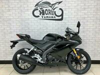 2021 YAMAHA YZF R125 125cc sports faired learner legal abs up side down fork...