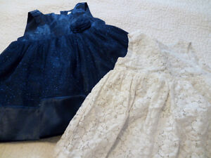 Beautiful Dresses 12m (including new tights and shoes)