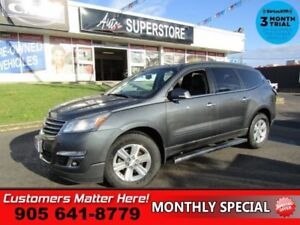 2013 Chevrolet Traverse 2LT  AWD 2LT ROOF LEATH DVD CAM PWR-GATE