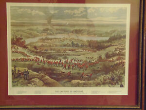 Collectible War of 1812 Historical Battle Prints Kelly & Curzon London Ontario image 6