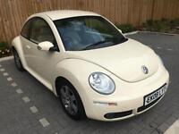 2008 08 Beige Volkswagen Beetle 1.6 Luna