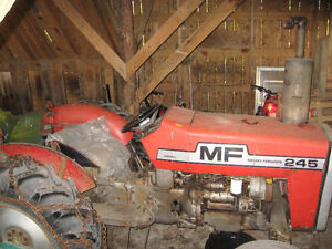 Massey Ferguson 245 Diesel Tractor 45 hp with 3 implements