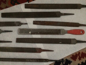 High quality 14 pcs steel file set for metal and wood London Ontario image 4