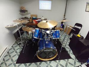 Drum sonor force 3007 en erable