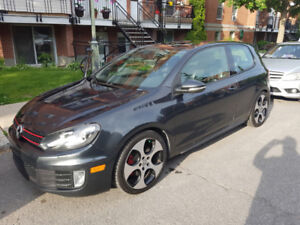 Volkswagen GTI Sièges sports en Cuir !!! Leather sport seats !!!