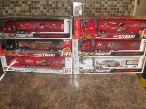 6 NEW - 1/64 scale #14 Tony Stewart Haulers
