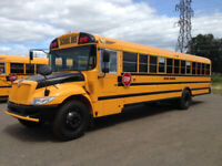 School Bus Drivers - $1500 Signing Bonus for B License Drivers