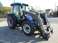 Compact tractors for farming, snow removal or construction