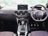 2020 DS DS 3 CROSSBACK HATCHBACK 1.2 PureTech Performance Line 5dr Hatchback Pet