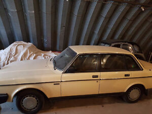1987 Volvo 240DL Florida Car