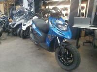 Piaggio Typhoon 125 Blue 2017 Learner Legal Scooter
