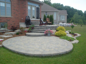 PAVING STONE, PATIOS, STONEWORK, BUILT-IN BBQS, HOT TUB AREAS London Ontario image 6