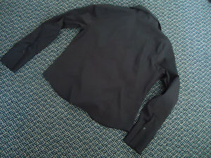 Ladies XL Long Sleeve Black Dress Shirt by Reitmans Kingston Kingston Area image 3