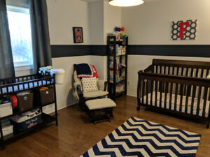 Complete Solid Wood Baby Room