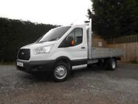 Ford Transit 350 L4 Lwb Alloy Double Dropside Truck 2.0 130ps Euro 6
